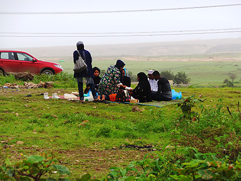 Picknick im Wadi