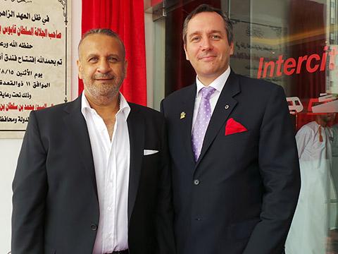 Siegfried Nierhaus und Osama Bouchra