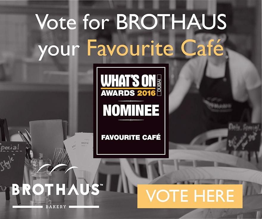 Whats On Awards als Favourite Café
