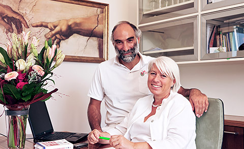 Dr. Harald Stossier mit Dr. Christine