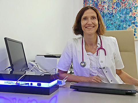 Dr. Charlotte mit E-Scan