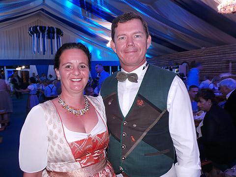 Richard Bandera mit Frau