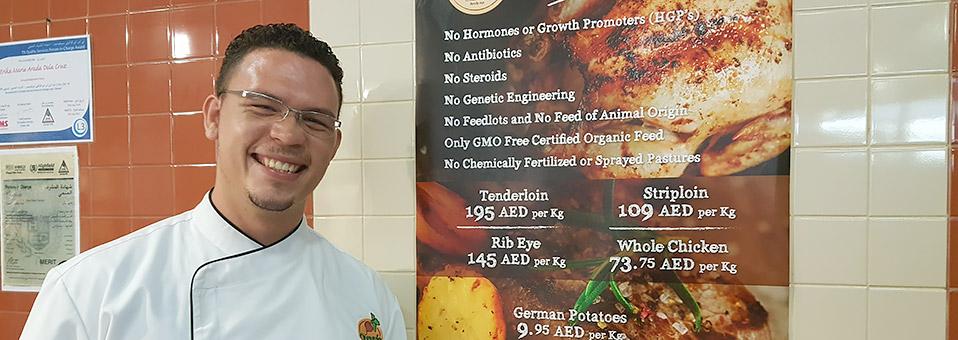 Deutsches Schwein bei Organic Foods & Café