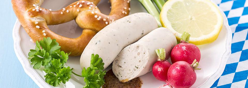 Münchner Weißwürste bei Organic