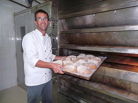 Bäckermeister Hanspeter Wibbelt