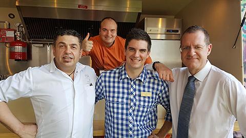 Team Steigenberger mit Chef Didier