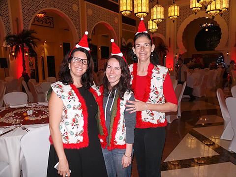 Michelle mit Swiss Ladies