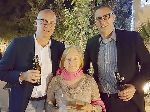 Gäste aus Deutschland und RAK