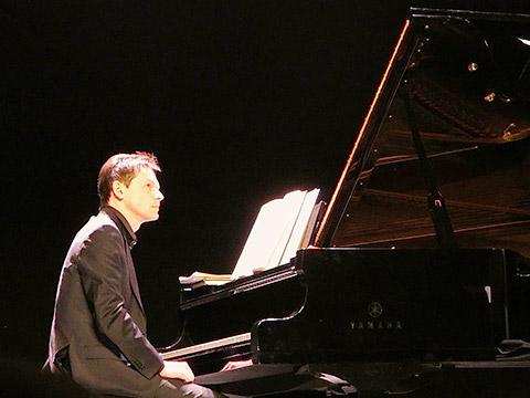 Francois Chaplin am Piano