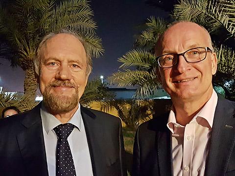 Moritz Kerler mit GM Andreas Müller