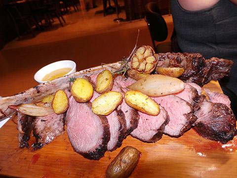 Tomahawk Rib Eye Steak