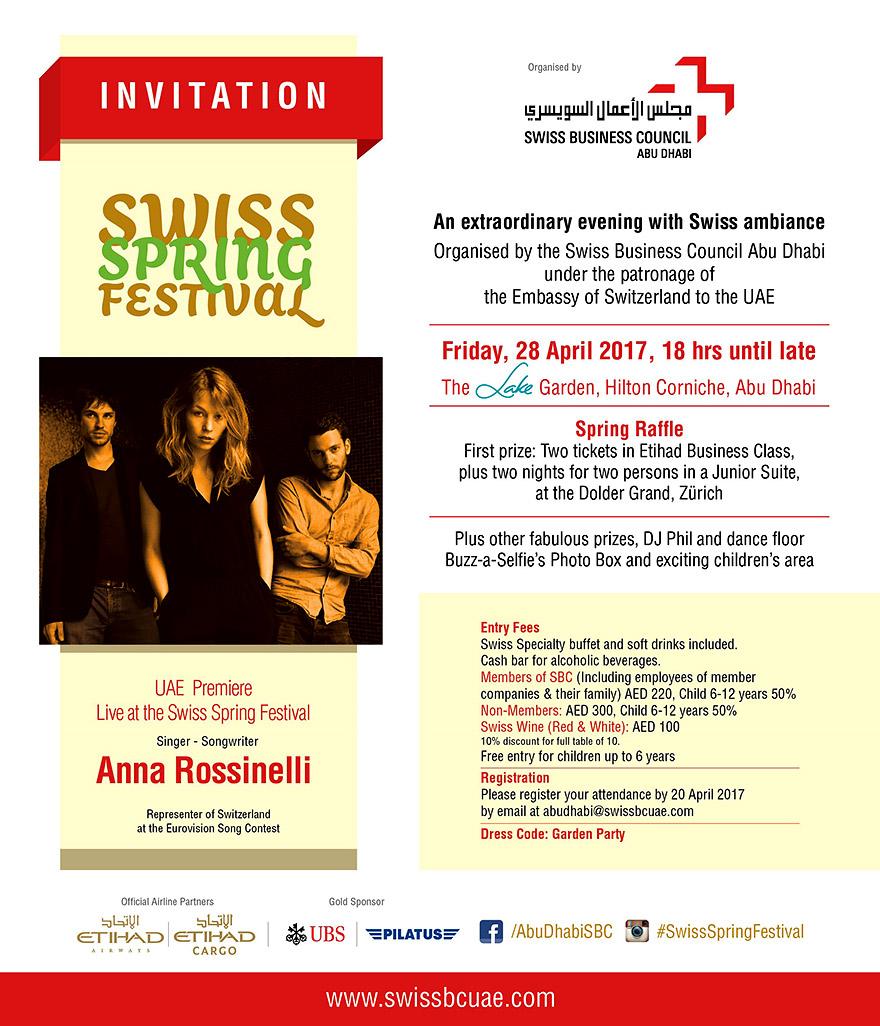 Swiss Spring Festival Abu Dhabi