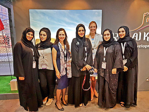 Das Team der RAK Tourism Development Authority