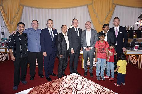 Gäste mit GM Christian Ruge