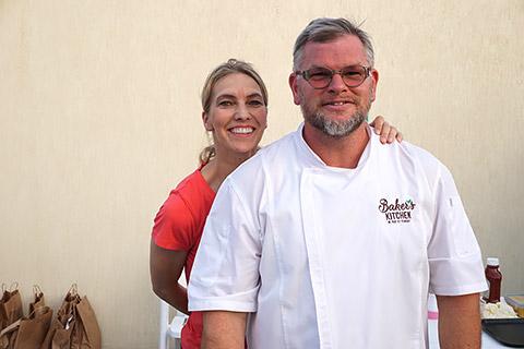 Heike und Sven von Baker's Kitchen