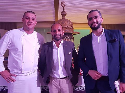 Ludovic Garnier, Amit Arora, Ahmad Tobasi