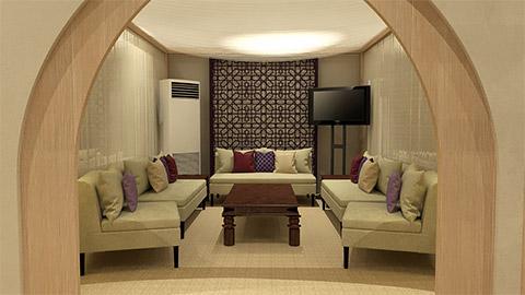 Privater Raum