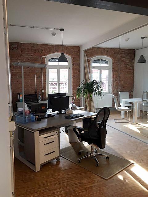 Blick ins Office