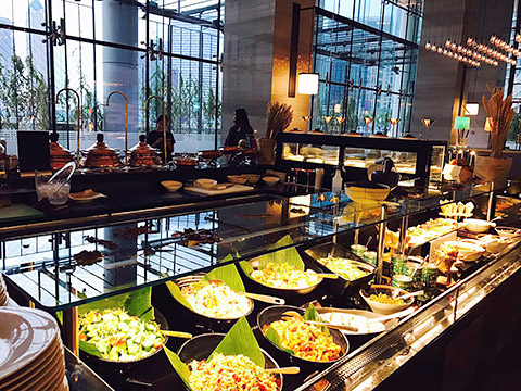 Buffet im Bayside Restaurant