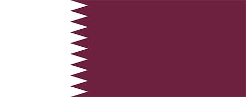 Flagge Katar