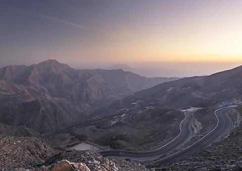 Blick vom Jebel Al Jais
