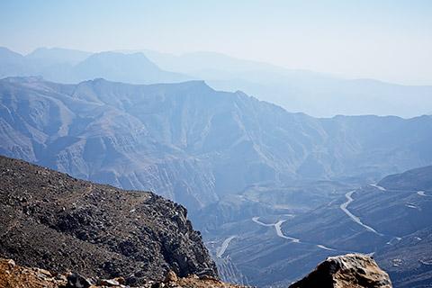 Blick vom Jebel Jais