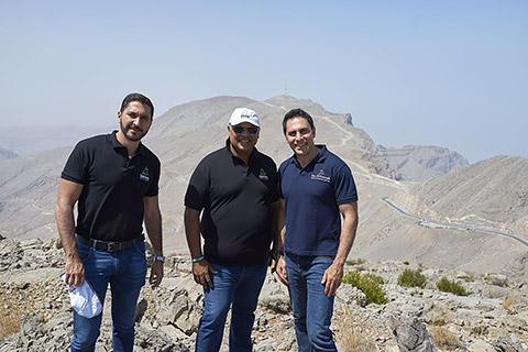 Ricardo Lizano, Jorge Jorge und Haitham Mattar