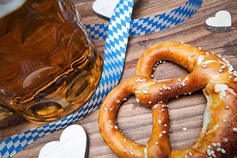 Brez'n und Bier