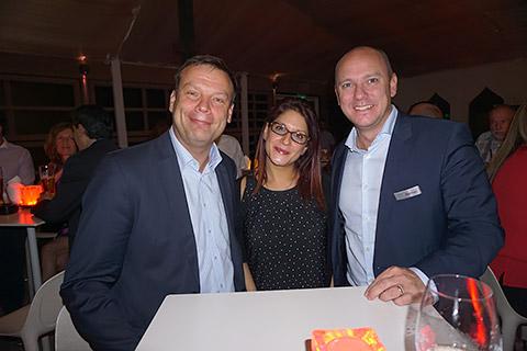 Dr. Andreas Liebmann, Sarah Ibrahim und Matthias Widor