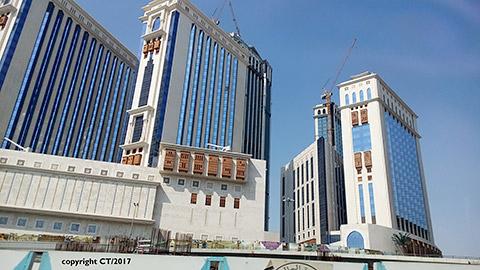 Hotelkomplex in Mekka