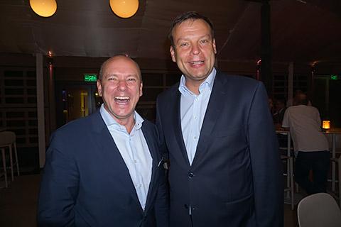 Matthias Widor mit Dr. Andreas Liebmann