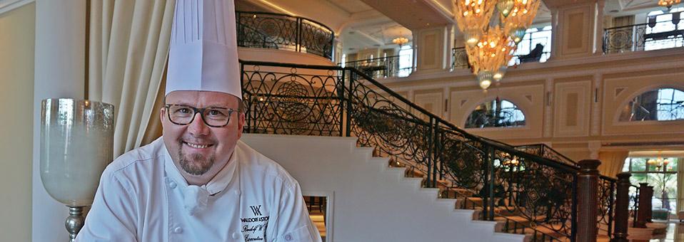 Küchenchef  im Waldorf Astoria in RAK