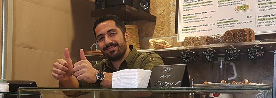 Die Baker's Kitchen in Abu Dhabi