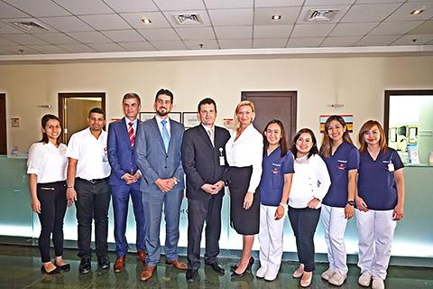 Das Team im German Heart Centre