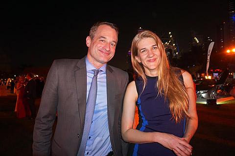 Felix Neugart und Frau