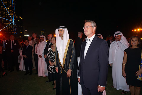 Generalkonsul und Ehrengast