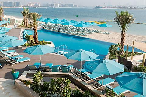 Pool und Beach