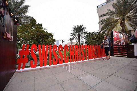 Swiss Christmas Market Abu Dhabi