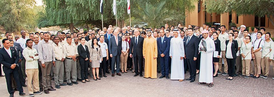 Ritz-Carlton-Gruppe hisst ihre Flagge in RAK im Al Wadi Desert