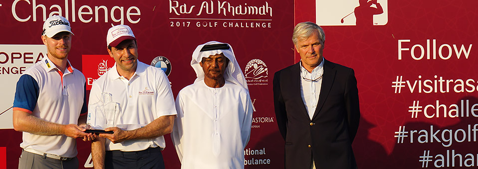 Jens Dantorp gewinnt Ras Al Khaimah 2017 Golf Challenge