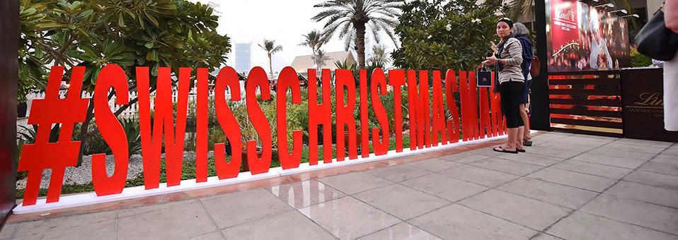 13. Swiss Christmas Market in Abu Dhabi