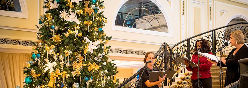 Die Weihnachtslichter gehen an – im Waldorf Astoria in RAK