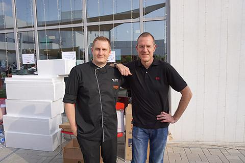 Chef Louis und GM Stephen