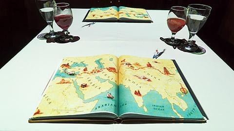 Route von Marco Polo