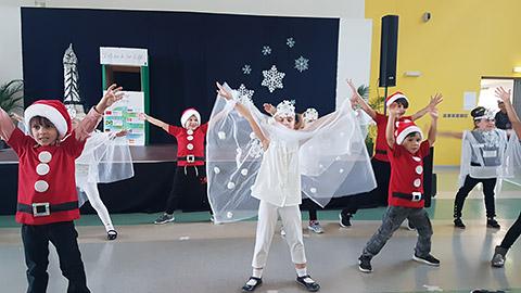 Schneeflöckchen-Tanz
