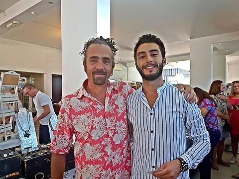 Stefano und Clement
