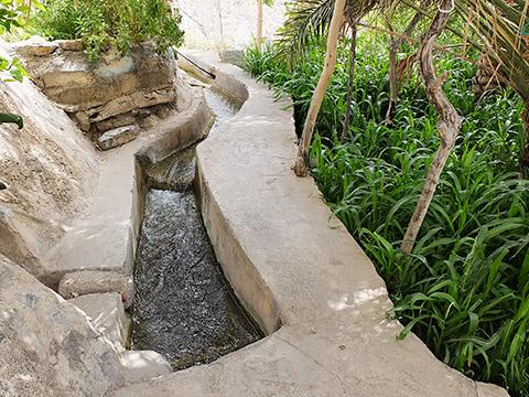 Alte aflaj Bewässerung