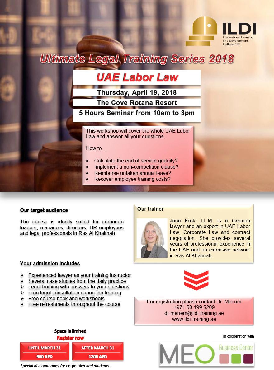 ILDI UAE Labour Law Training