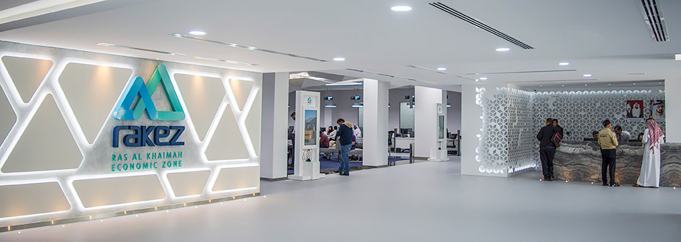 Start des RAKEZ Service Centers Al Hamra