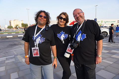 Dr. Jean-Marc Gauer mit Sue Aiken und Ivo Diehlen
